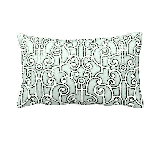 Light Green Decorative Pillow : Light Green Pillow Cover Green Throw Pillow Cover Decorative