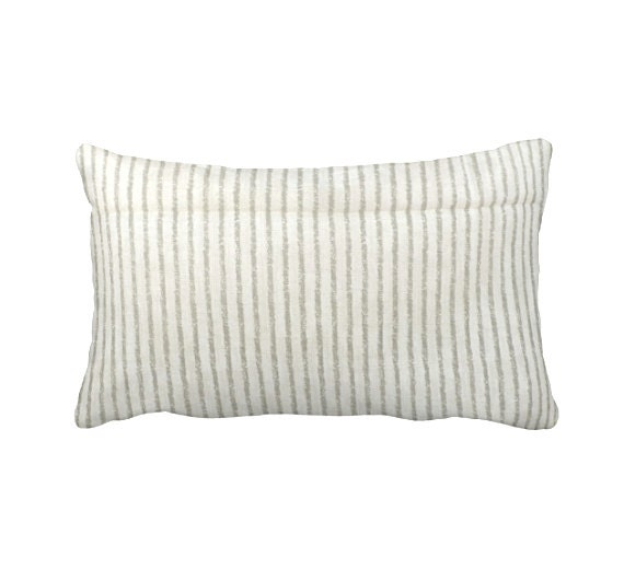 One 12x16 Lumbar Pillow Cover Throw Pillow Decorative Pillow