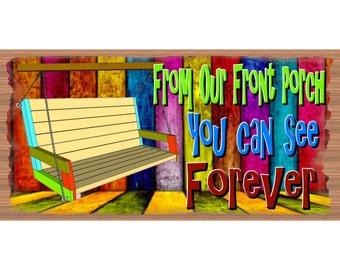 Porch Wood Signs - Porch Plaque - GS 122- Porch Wood Sign - Porch  plaque