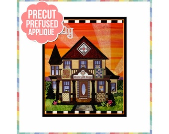 Holiday Houses: May - Laser Cut Pre Fused Applique Quilt Kit