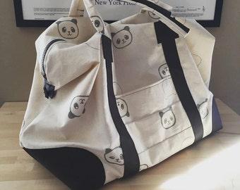 Custom Print Canvas Weekend Bag
