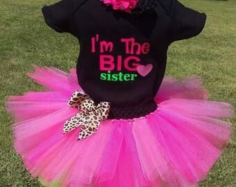 Big Sister Tutu Outfit