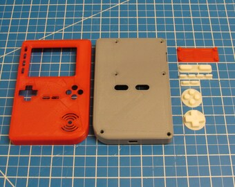 PiGRRL 2 - Raspberry Pi Game Console 3D Printed Parts