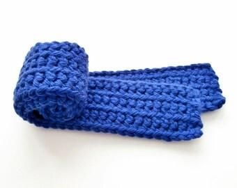 Children's Scarf, Blue Toddler Scarf