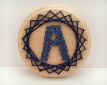 String Art - Choose Your Letter and Color