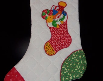 Retro Style Christmas Stockings