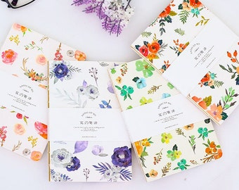 Floral Notebooks Journal