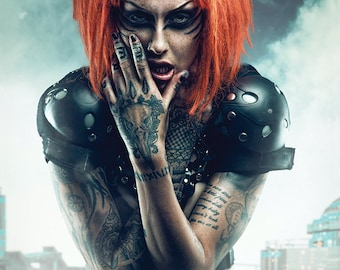 LARGE A1/A2 PRINT: Shelly d'Inferno by Clinton Lofthouse high quality matte A3 or A4 photo poster