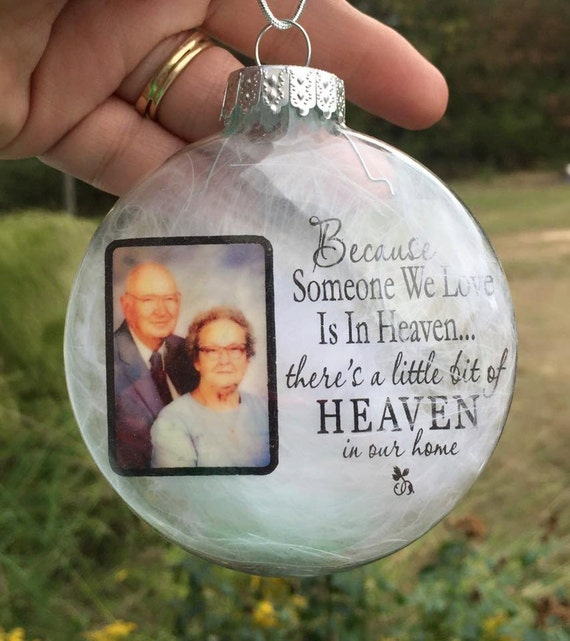Personalized christmas ornaments photo by paintedtreasuresbyme for Personalized christmas photo ornaments