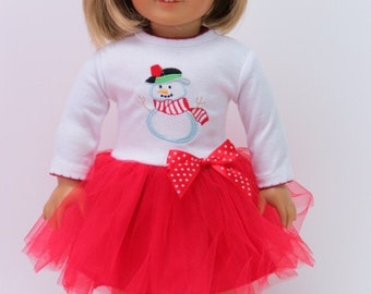 American Girl Christmas outfit