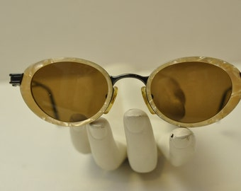 Vintage Persol Moschino Mother of Pearl Cateye Sunglasses