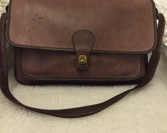 Vintage coach brown men's labtop/workbag