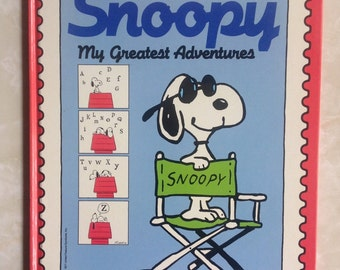 Snoopy My Greatest Adventures by Charles M. Schulz