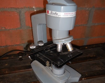 Vintage American Optics Microscope