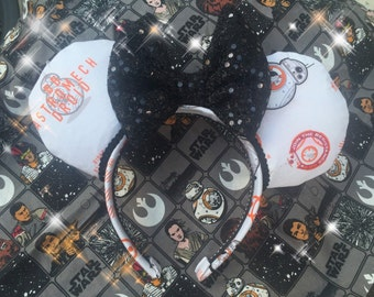 Minnie Mouse  Ears Join the Resistance BB8 Star Wars