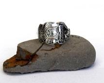 rolex ring, bucherer ring,  spoon ring, switzerland ring, swiss ring, watch ring
