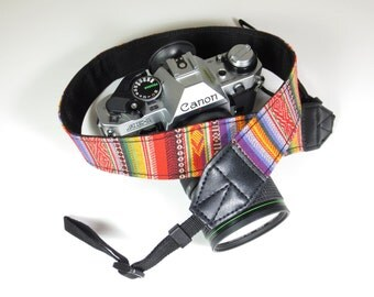Woven Camera Strap - Colorful - DSLR / SLR