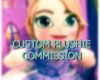 For idontlikespam50 - Single 8 Inch Handmade Plushie
