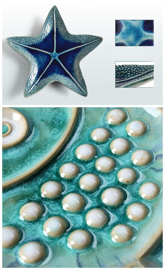 Sea World Porcelain Wall Decor Fish Plate