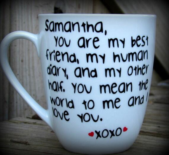 Valentines Gift Valentines Mug Bestie Mug Bff Gift Gift