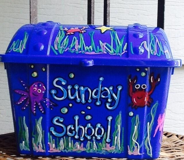 reward box treasure chest school reward box teacher reward box kids toy box toy chest small toy box under the sea