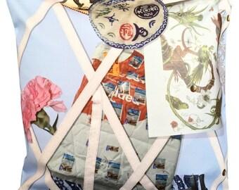 Designer's Guild Christian Lacroix Souvenir Ciel Cushion Cover