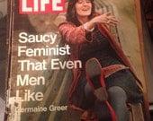 Life Magazine May 7th 1971 Saucy Feminist Men Like Germaine Greer Restoring Historical Savannah Mansions Viet Nam John Connally