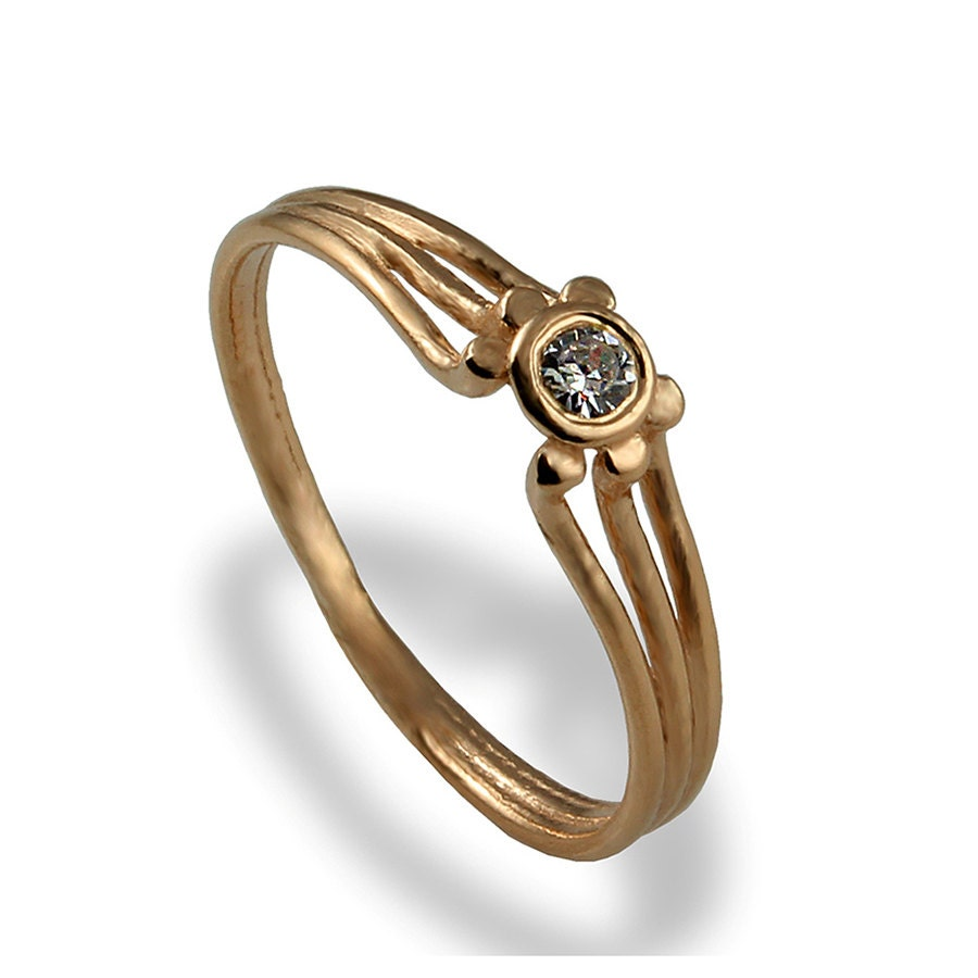dainty engagement ring rose gold engagement ring diamond. Black Bedroom Furniture Sets. Home Design Ideas