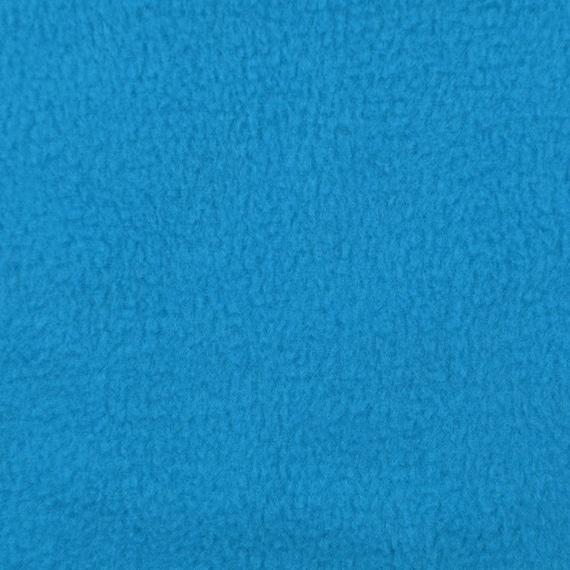 Turquoise fleece fabric by the yard for Spaceship fleece fabric