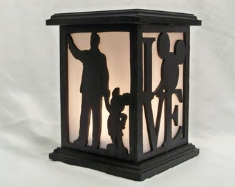 Partners wooden lantern
