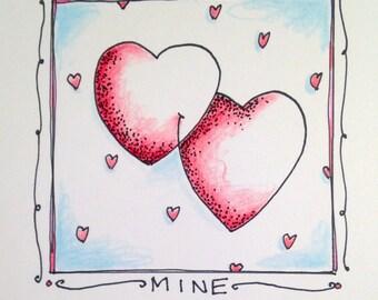 Be Mine Valentine - Pack of 5 Valentines