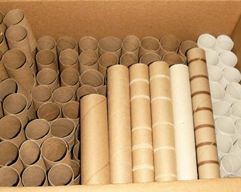 205 Toilet Paper Tubes and 6 paper towel tubes