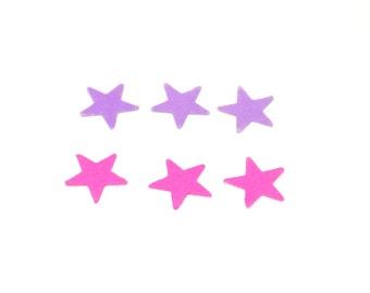 Pink confetti, purple star confetti, Star confetti, confetti, wedding confetti, birthday confetti, party confetti, pink star confetti