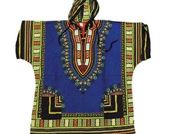 African Hooded Dashiki plus size