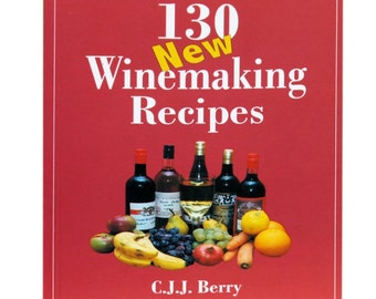 130 wine making recipes homebrewing , winemaking Christmas gift idea