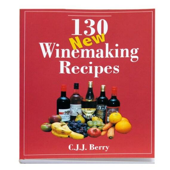 130 wine making recipes homebrewing winemaking christmas gift idea
