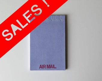 Air mail notepad