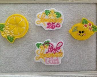 Lemon Feltie, Lemonade Feltie ,4 to Choose , Always Precut