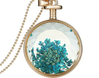 Pendant flower Crystal