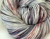 Movie Macabre - Hand Dyed Fingering/Sock Weight Yarn - 80 sw merino/20 nylon - 400 yards/100 grams