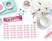 "MCM MANTRAS: ""Be a Voice"" Paper Planner Stickers!"