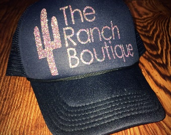 The Ranch Boutique trucker hat