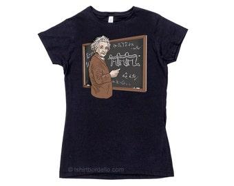 Einstein Human Centipede Womens Horror T-Shirt