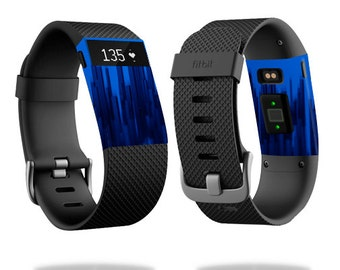 Skin Decal Wrap for Fitbit Blaze, Charge, Charge HR, Surge Watch cover sticker Blue Grass