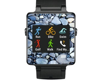 Skin Decal Wrap for Garmin Vivoactive Forerunner, Vivoactive Forerunner Hr Watch cover sticker Rocks