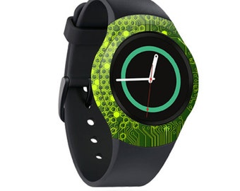 Skin Decal Wrap for Samsung Gear S2, S2 3G, Live, Neo S Smart Watch, Galaxy Gear Fit cover sticker Short Circuit