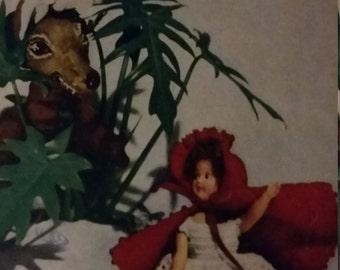 Dolls and Dolls Vintage Crochet Pattern (1951)