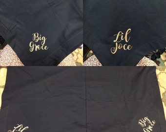Custom Big Little Blankets