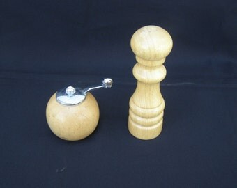 Marvelous Salt & Pepper Wooden Shakers