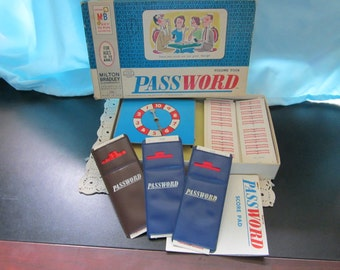 Password Game from the 60's